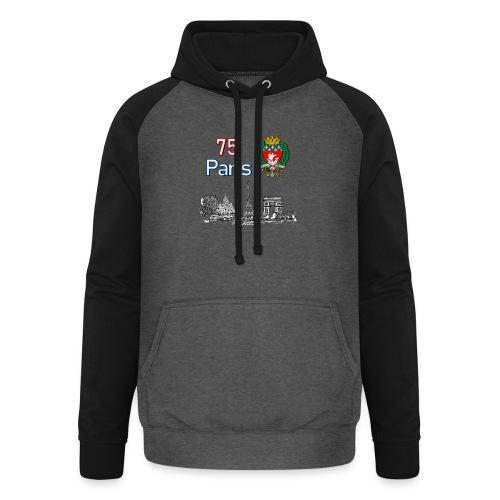 Paris france - Sweat-shirt baseball unisexe
