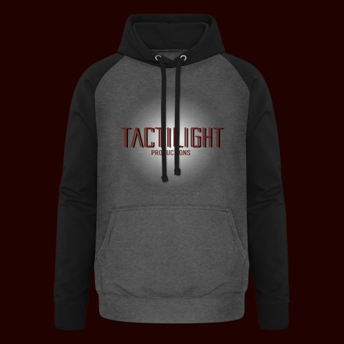 Tactilight Logo - Unisex Baseball Hoodie
