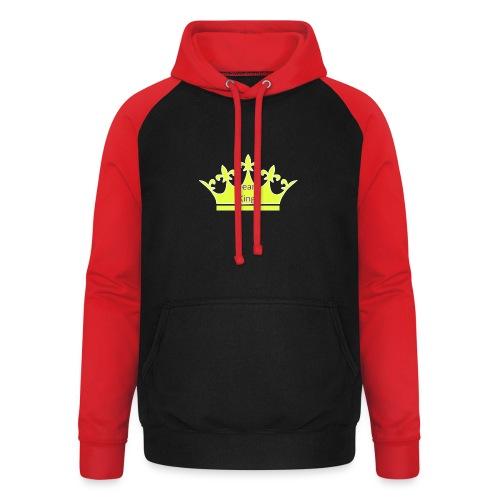 Team King Crown - Unisex Baseball Hoodie