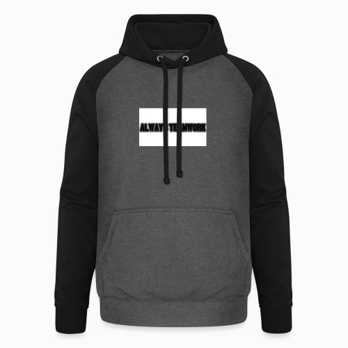 at team - Unisex baseball hoodie