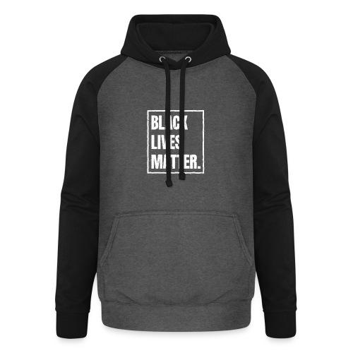 Black Lives Matter T-Shirt BLM #blacklivesmatter - Unisex Baseball Hoodie