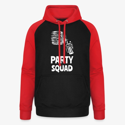 Lustiges Party Shirt I Funny Party Shirt - Unisex Baseball Hoodie