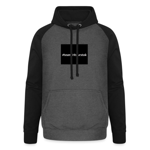 #teamfrituurstok - Unisex baseball hoodie