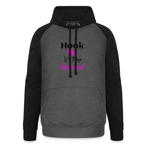 Hook N Chill - Unisex baseball hoodie