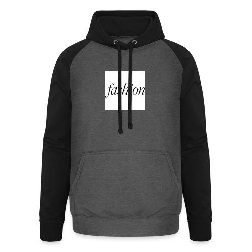 fashion - Unisex baseball hoodie