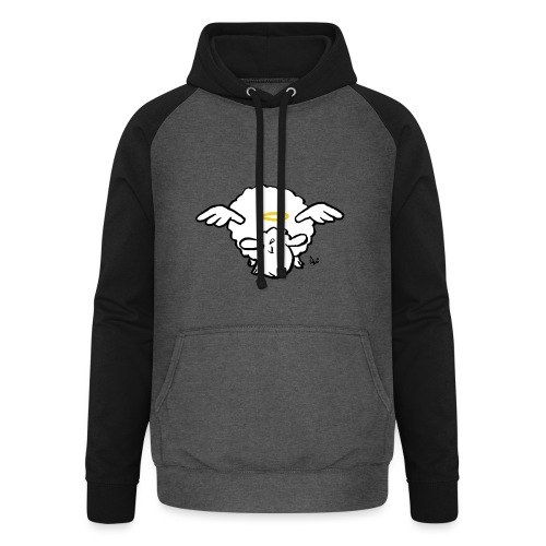 Angel Sheep - Unisex Baseball Hoodie