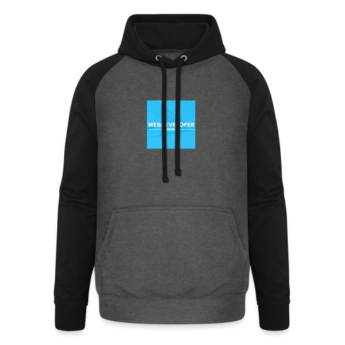 Web developer News - Unisex Baseball Hoodie