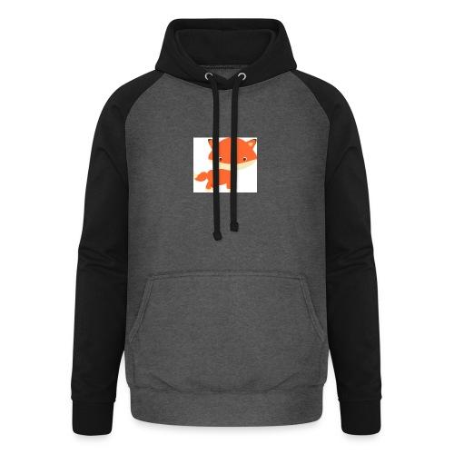 fox_1 - Unisex baseball hoodie