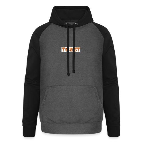 Toast Muismat - Unisex baseball hoodie