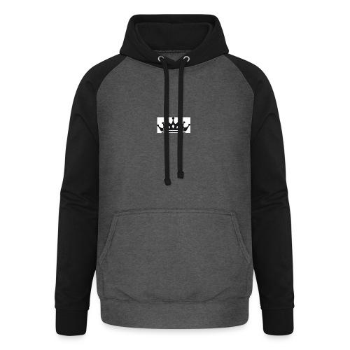 krone-2_einzeln - Unisex baseball hoodie