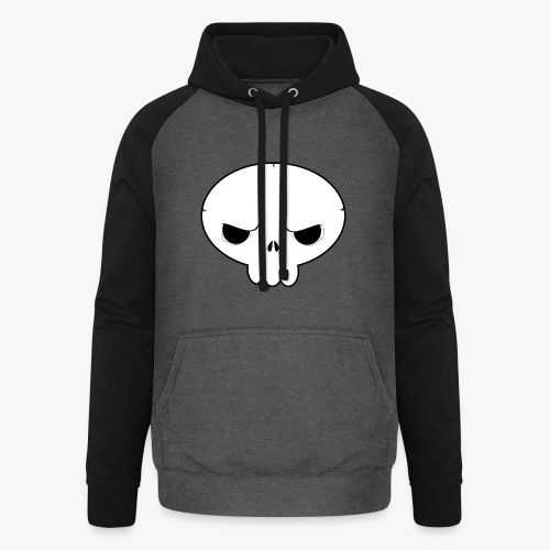 Skullie - Unisex baseball hoodie