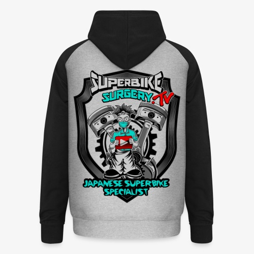 Superbike Surgery TV - Unisex Baseball Hoodie