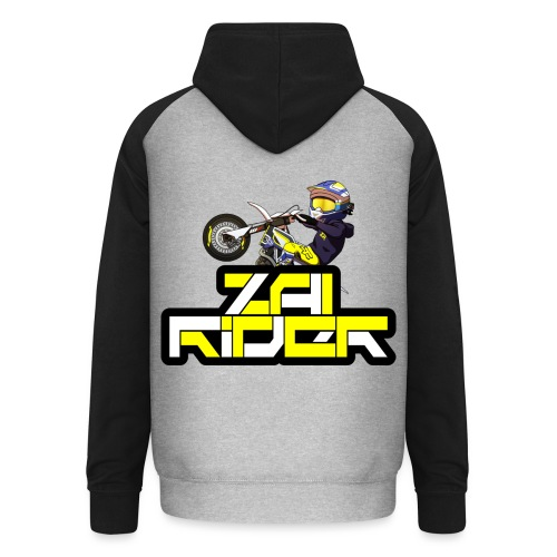 LOGO ZAI RIDER - Sweat-shirt baseball unisexe