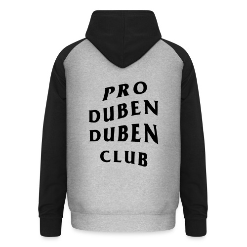 Pro Duben Duben Club S1 - Unisex Baseball Hoodie