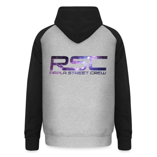 Rapla Street Crew Logo Galaxy - Unisex Baseball Hoodie