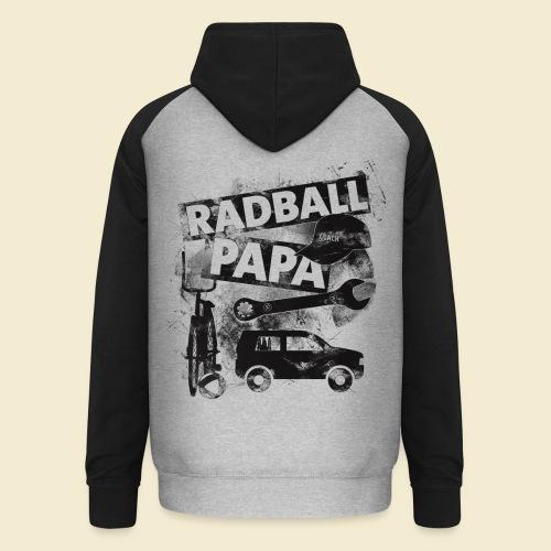 Radball | Papa - Unisex Baseball Hoodie