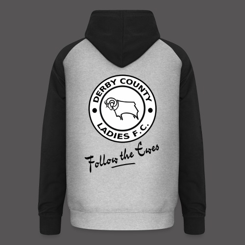 Follow The Ewes 1200x1600 1 png - Unisex Baseball Hoodie