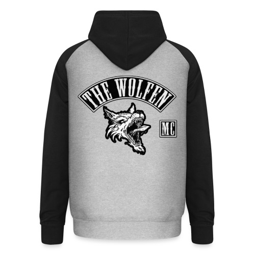 TWMC No Bottom Rocker - Unisex Baseball Hoodie