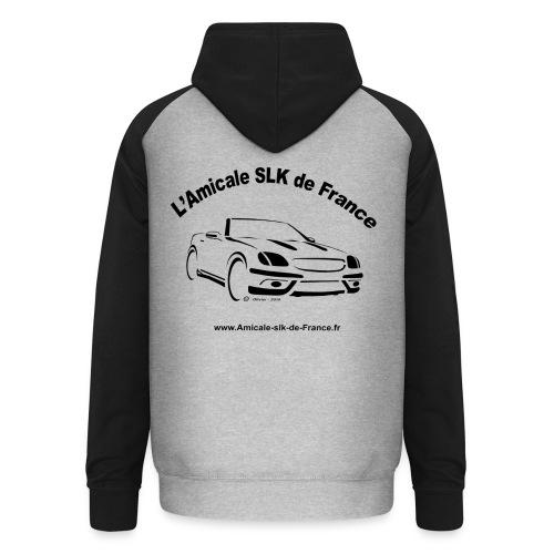 logo amicale black - Sweat-shirt baseball unisexe
