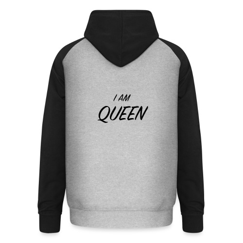 Queen - Sweat-shirt baseball unisexe