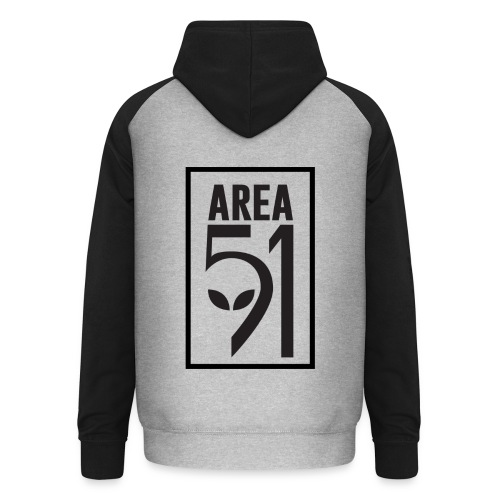 Area 51 raid + - Sweat-shirt baseball unisexe