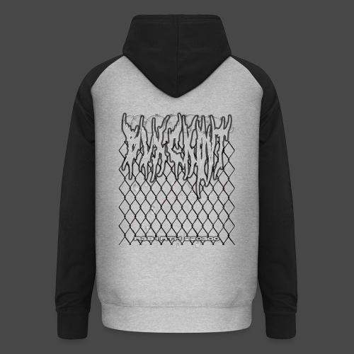 chainlinked hoodie - Unisex Baseball Hoodie