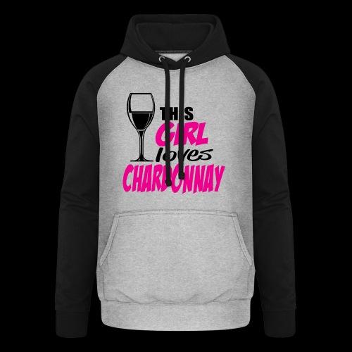 Chardonnay - Sweat-shirt baseball unisexe