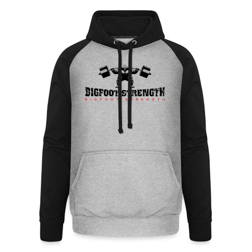 Bigfoot Strength 1 - Unisex Baseball Hoodie