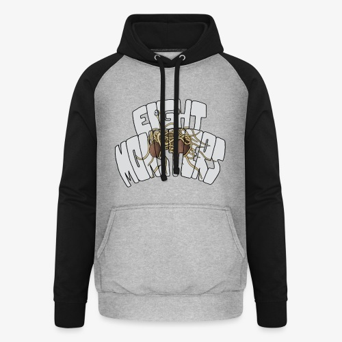Eight Monsters - Sweat-shirt baseball unisexe