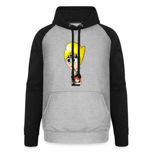 Tee-shirt logo ShadoWf - Sweat-shirt baseball unisexe