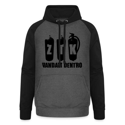 ZTK Vandali Dentro Morphing 1 - Unisex Baseball Hoodie