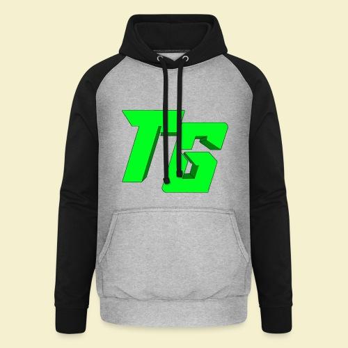 TristanGames logo merchandise [GROOT LOGO] - Unisex baseball hoodie