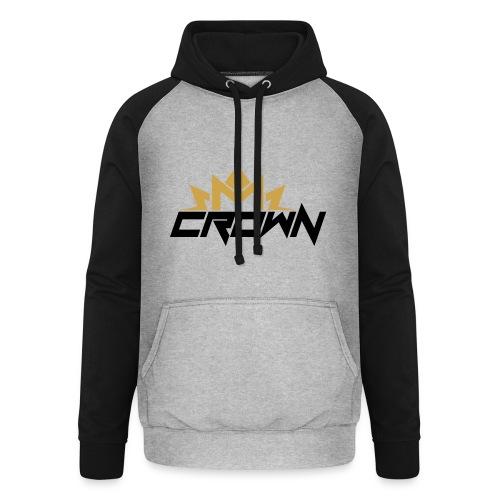crown neu - Unisex Baseball Hoodie
