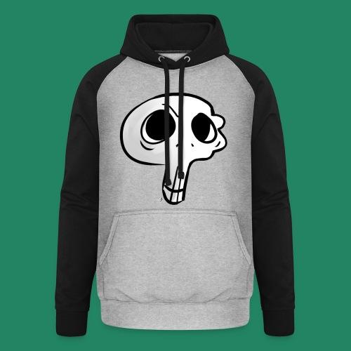 Skull - Sweat-shirt baseball unisexe