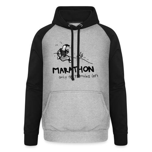marathon-png - Bluza bejsbolowa typu unisex