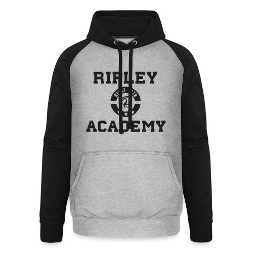 RIPLEY ACADEMY BLACK - Sudadera con capucha de béisbol unisex