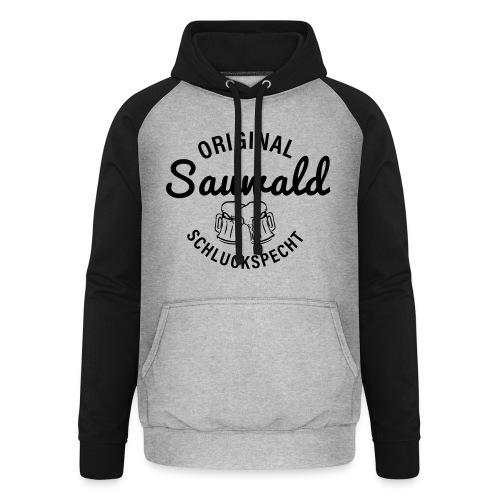 original sauwald schluckspecht - Unisex Baseball Hoodie