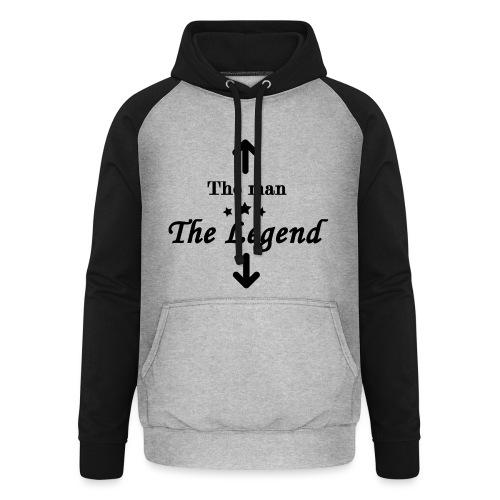 The Legend - Unisex Baseball Hoodie