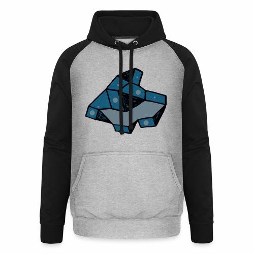 dot rock - Unisex baseball hoodie