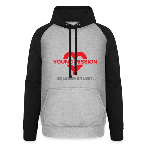 YOUNG MISSION - Unisex Baseball Hoodie