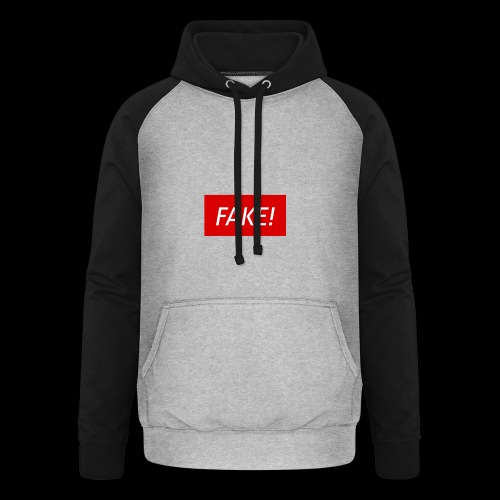 FAKE-Collection by ØNIC™ - Unisex Baseball Hoodie