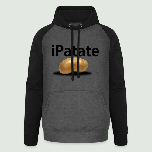 iPatate - Sweat-shirt baseball unisexe