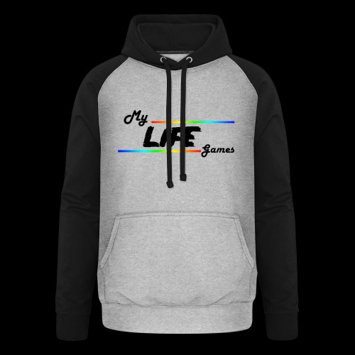 Gaming Lives - Sweat-shirt baseball unisexe