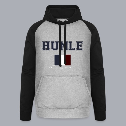 hunle French Collection n°1 - Sweat-shirt baseball unisexe