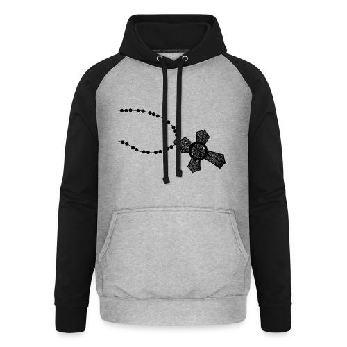 kruis 2 png - Unisex baseball hoodie