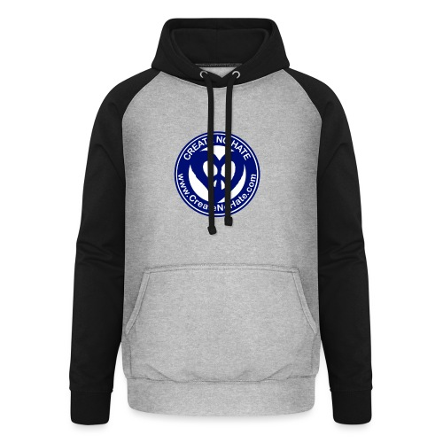 THIS IS THE BLUE CNH LOGO - Unisex Baseball Hoodie