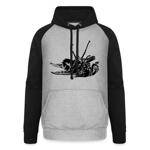 mouche morte - Sweat-shirt baseball unisexe