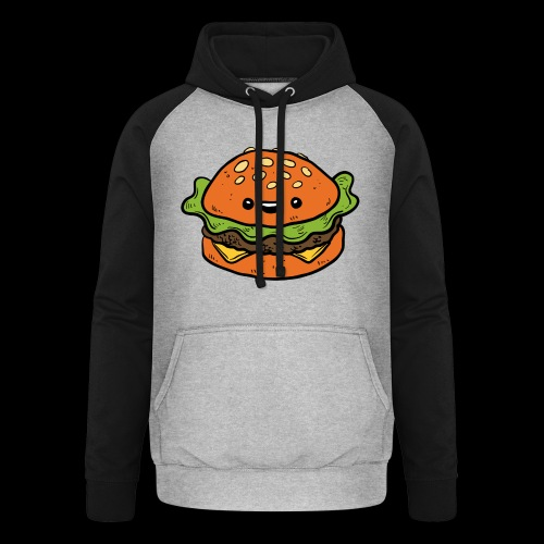 Star Burger - Unisex baseball hoodie