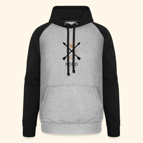 NONO SINCE 2017 - Unisex baseball hoodie