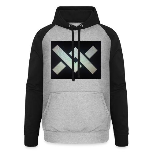 Original Movement Mens black t-shirt - Unisex Baseball Hoodie